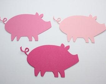 18 x Pig Die Cuts