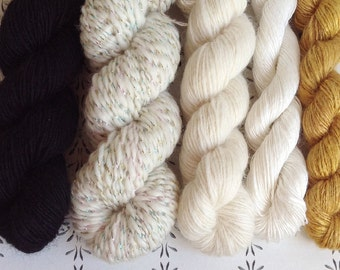 """The Treasury Chest - """"Once upon a time"""" collection of handspun yarns"""