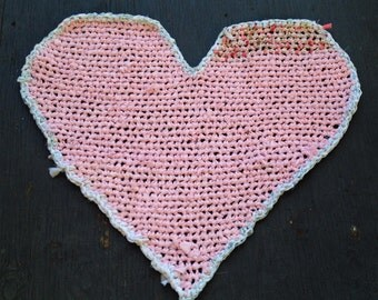 MADE TO ORDER Heart Rug