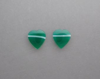 Green Onyx Pair