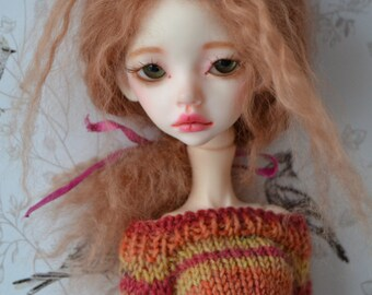 Nordic stripey top/sweater for Doll chateau kid07,  please read the description carefully!
