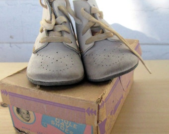 Vintage Baby Shoes with Original Box #2