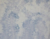 148 - Snow dyed blue cotton fabric