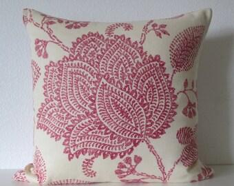 Lee Jofa Medina Ruby designer decorative pillow cover