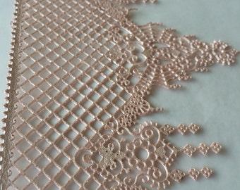 Delicate, Edible Lace, Sugar Lace,  Cake Lace, Vintage, Ophelia Design, wedding cake topper,