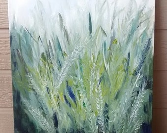 "Acrylic painting ""Field"" 16x20 canvas 