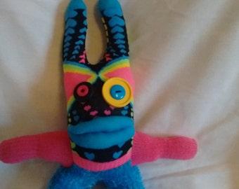 Sock Monster Neon