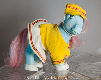 MOMMY SWEET CELEBRATIONS 1984 mlp G1 Twice as Fancy in Strike Up The Band pony wear