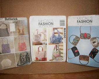 Purse Patterns by Butterick and McCall's