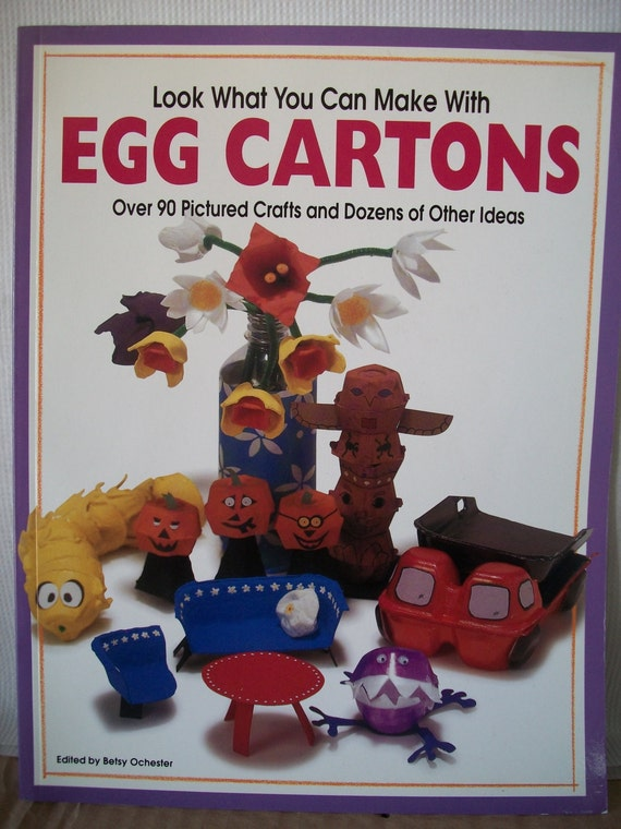 look what you can make with egg cartons or craft