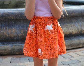 Unicorns Are Real High Waisted Toddler Girls Skirt