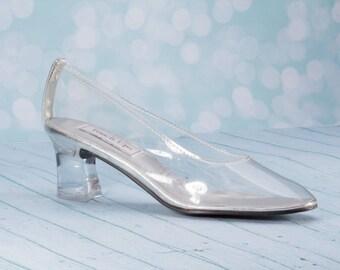 Cinderella Wedding Shoes - Cinderella Bridal Shoes - Cinderella Shoes - Wedding Shoes - Fairy Tale Wedding Shoes - Wedding Heels -Cinderella