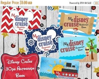 Disney Cruise Autograph Book - Disney Cruise Printables - Disney Autograph Album - Disney Autograph Book - Autograph Pages