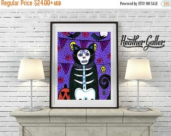 55% Off- Day of the Dead, Mexican Folk Art (HG366)