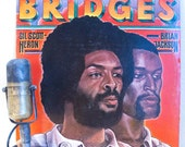 "Gil Scott-Heron and Brian Jackson Vinyl Record Albums LP 1970s Spoken Word Jazz-Funk Soul ""Bridges"" (1977 Arista w/""We Almost Lost Detroit"")"
