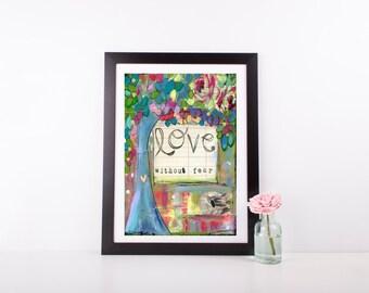 girls room decor teen girl girl gift baby girl nursery decor colorful print