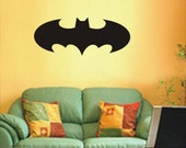 Cool Batman LOGO ----Removable Graphic Art wall decals stickers home decor