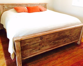 Handcrafted Bed