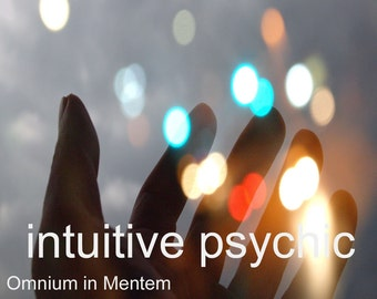 INTUITIVE READING by Clairvoyant Psychic Medium Adviser Melissa - Email with Pdf