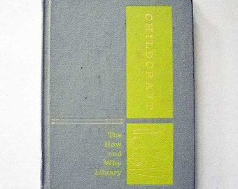 Vintage ChildCraft Book The How And Why Library