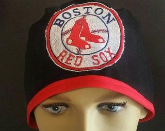 Mens boston red sock scrub hat