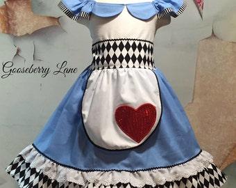 Gooseberry Lane Originals Alice in Wonderland Dress