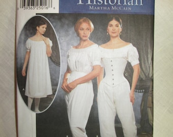 Simplicity 9769 - 1860's Corset and Undergarments pattern * size HH (6,8,10,12)*