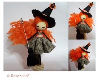 Little Witch doll OOAK