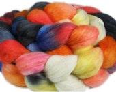 LION'S MANE JELLYFISH Polwarth/Mohair/Silk Roving - 4.0 oz
