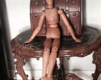 MANNEQUIN for Artists, Vintage Mid-Century Object, Wonderful Decor Item!