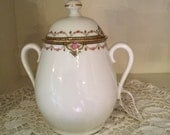 French Antique Sugar Bowl Limoges