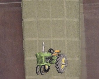 Kitchen Towel - John Deere Green Tractor