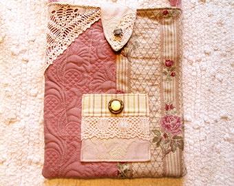 Boho Shabby Chic Romantic Mori Girl Floral Lace Cross Body Bag