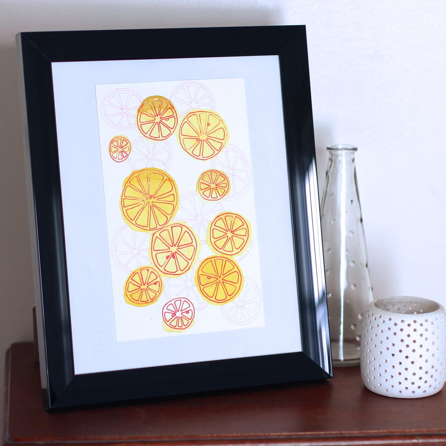 Fruit Art Kitchen Art Kitchen Decor Fruit Wall Art