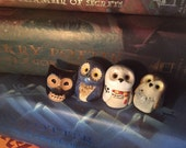 Custom Owl Family, Harry Potter Inspired Owlery