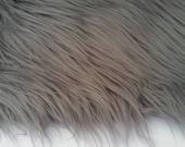 Smokey Gray/Grey Faux Fur