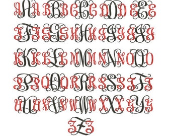 3 Letter Monogram Embroidery - ADD ON,