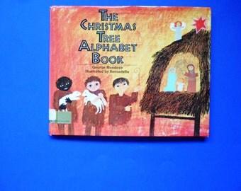The Christmas Tree Alphabet Book, a Vintage Children's ABC Book