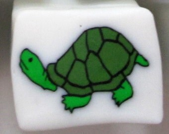 Handmade Turtle Polymer Clay Cane, Polymer Clay, Cane, Canes, Nail Art, Jewelry, FIMO