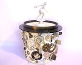 BOWLER Trophy ICE BUCKECT/ Memory Mosaic Industrial Bucket