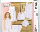 Slips, Camisoles, Petticoat, Panties and Bloomers for Children and Girls - Uncut Factory Folded Pattern - Heirloom Undies