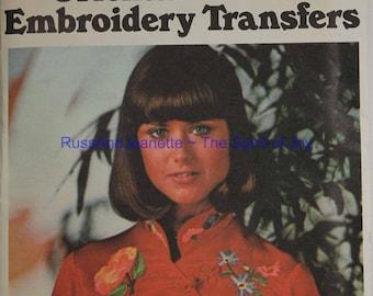 Butterick 4574 Embroidery Transfers Oriental Iron On Mofits Uncut  Pattern