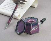 Ceramic Ink Well - Lavender