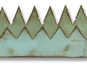 Sizzix ~ Tim Holtz Alterations ~  On The Edge ~ Pennants