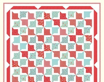 Vintage Picnic - Lazy Days Quilt Pattern by Bonnie Olaveson for Cotton Way