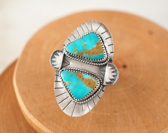 Native Points Turquoise Ring