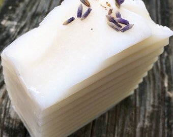 "Handcrafted Vegan ""Subtle Lavender""  Soap with Mango Butter"