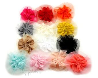 Vintage Lace 3 inches - Lace Flowers, Lace Flower Headband, Lace For Babies, Vintage Lace Trim, Vintage Lace Fabric, Lace Flower Applique