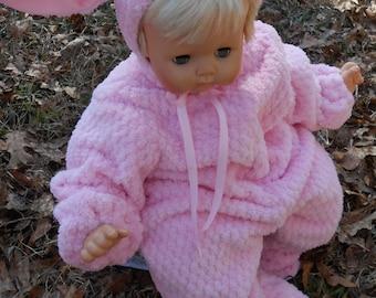 G010   Cuddly  Fleece Lamb Halloween Costume Baby Sizes