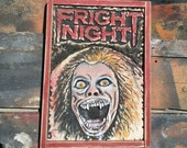 Custom order of Amy from Fright Night, Handmade carved and painted wood sculpture (RESERVED for Joe Medina)